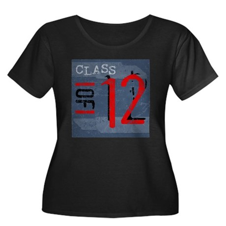 Class of 12 Grunge Women's Plus Size Scoop Neck Da