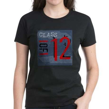 Class of 12 Grunge Women's Dark T-Shirt