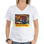 Shriner Women's V-Neck T-Shirt