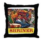 Shriner Throw Pillow