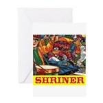 Shriner Greeting Card