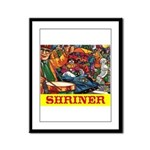 Shriner Framed Panel Print