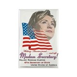 Madam Secretary! - Rectangle Magnet