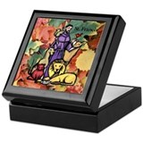 Saint Francis Leaves Keepsake Box