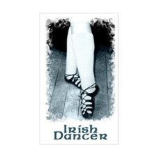 Large Irish Dancer Rectangle Bumper Stickers