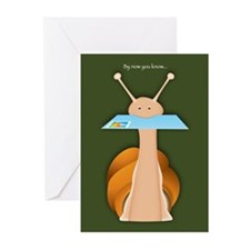 I'm a little slow Greeting Cards (Pk of 20)
