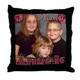 Candace Custom Throw Pillow #2
