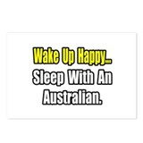 """..Sleep With an Australian"" Postcards (Package of"