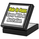 """..Sleep With an Australian"" Keepsake Box"
