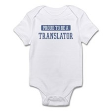 Proud to be a Translator Onesie