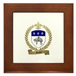 MAHIER Family Crest Framed Tile