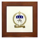 MAHIER Family Crest Framed Tile