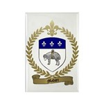 MAHIER Family Crest Rectangle Magnet (100 pack)