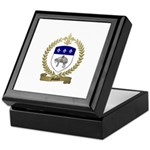 MAHIER Family Crest Keepsake Box