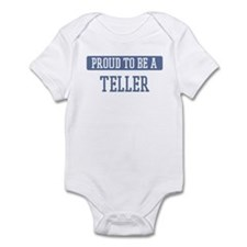 Proud to be a Teller Infant Bodysuit