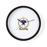 MAHIER Family Crest Wall Clock
