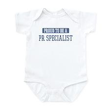Proud to be a Pr Specialist Infant Bodysuit