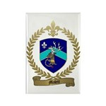 MALETT Family Crest Rectangle Magnet (10 pack)