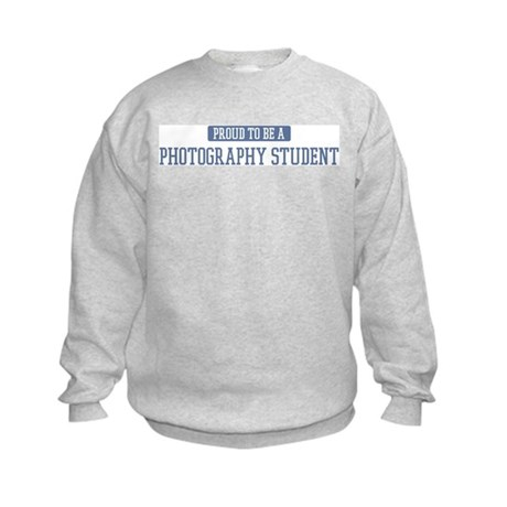 Proud to be a Photography Stu Kids Sweatshirt