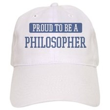 Proud to be a Philosopher Baseball Cap