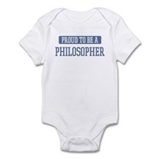 Proud to be a Philosopher Infant Bodysuit