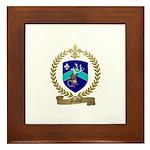 MALETTE Family Crest Framed Tile