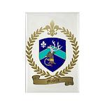 MALETTE Family Crest Rectangle Magnet (10 pack)