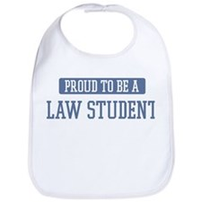 Proud to be a Law Student Bib