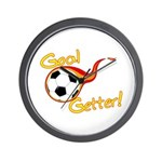 Goal Getter Wall Clock