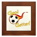 Goal Getter Framed Tile
