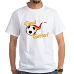 Goal Getter White T-Shirt