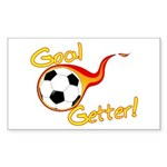 Goal Getter Rectangle Sticker