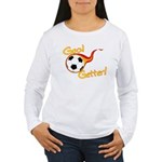 Goal Getter Women's Long Sleeve T-Shirt