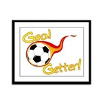 Goal Getter Framed Panel Print