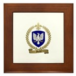 MARTEL Family Crest Framed Tile