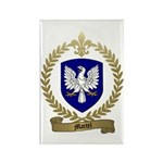 MARTEL Family Crest Rectangle Magnet