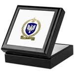 MARTEL Family Crest Keepsake Box