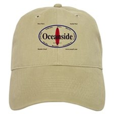 Oceanside Surf Spots Baseball Cap