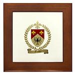 MASSON Family Crest Framed Tile