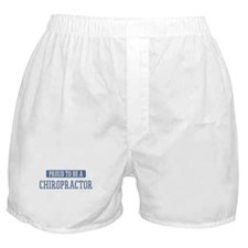 Proud to be a Chiropractor Boxer Shorts