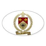 MASSON Family Crest Oval Sticker