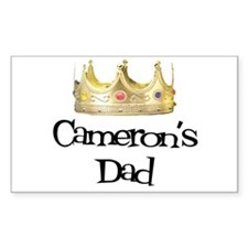 Cameron's Dad Rectangle Decal