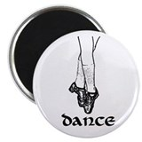 Hard Shoe Dance Graphic Magnet