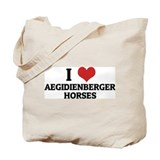 I Love Aegidienberger Horses Tote Bag