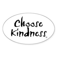 Oval Sticker- Choose Kindness