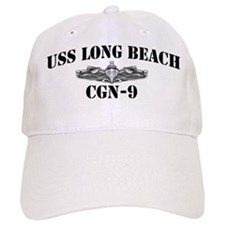 USS LONG BEACH Baseball Cap