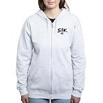 SIK Women's (2 sided) Zip Hoodie