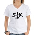 SIK Women's V-Neck T-Shirt