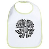 Two Headed Creature Bib