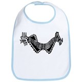 Peruvian Dragon Bib